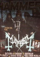 Okładka książki Metal Hammer nr 340 10/2019 Redakcja magazynu Metal Hammer