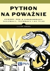 Okładka książki Python na poważnie Julien Danjou