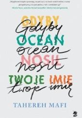 Okładka książki Gdyby ocean nosił twoje imię Tahereh Mafi