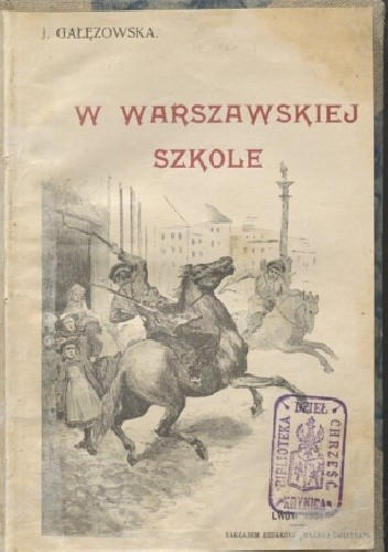 Okładka książki W warszawskiej szkole Teresa Jadwiga Papi