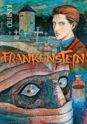 Okładka książki Frankenstein Junji Ito