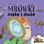 Okładka książki Mrówki małe i duże Justyna Kierat