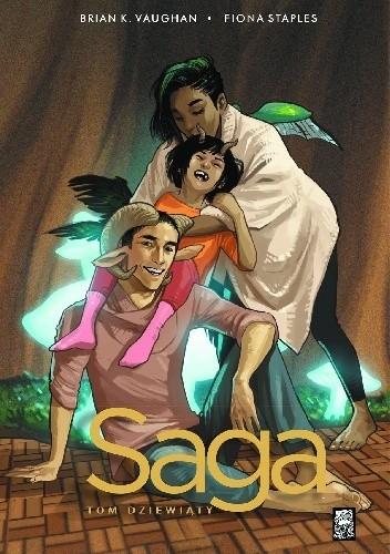 Okładka książki Saga. Tom Dziewiąty Fiona Staples,Brian K. Vaughan