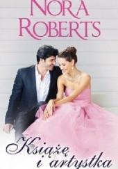Okładka książki Książę i artystka Nora Roberts