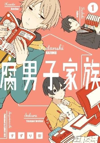 Okładka książki Fudanshi Kazoku #1 Machi Suzuri