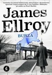 Okładka książki Burza James Ellroy