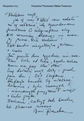 Okładka książki Niewysłane listy. Listy, dzienniki, rysunki, dokumenty. 1940–1942 Stefan Themerson,Franciszka Themerson