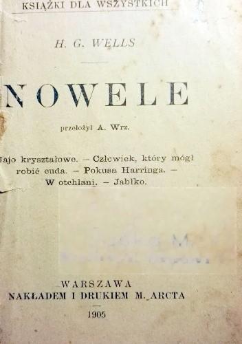 Okładka książki Nowele Herbert George Wells