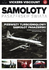 Okładka książki Vickers Viscount - Pierwszy Turbośmigłowy Samolot Pasażerski Paweł Bondaryk,Michał Petrykowski