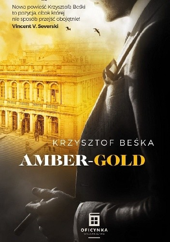 Okładka książki Amber Gold Krzysztof Beśka