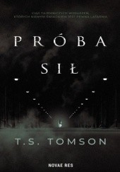 Okładka książki Próba sił T.S. Tomson