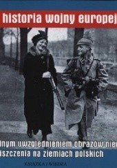 Okładka książki Obrazowa historia wojny europejskiej Anna Miklewska