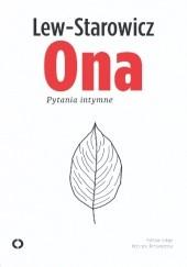 Okładka książki Ona. Pytania intymne Zbigniew Lew-Starowicz,Krystyna Romanowska