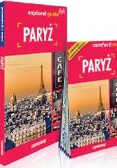 Okładka książki Paryż explore! guide light Marta Kielczewska-Konopka