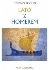 Okładka książki Lato z Homerem Sylvain Tesson