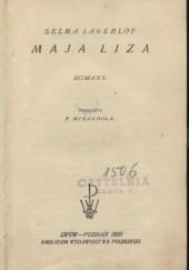 Okładka książki Maja Lisa: romans