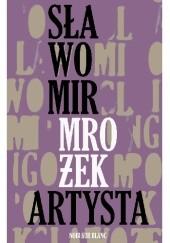 Okładka książki Artysta Sławomir Mrożek