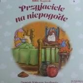 Okładka książki Przyjaciele na niepogodę Małgorzata Strzałkowska