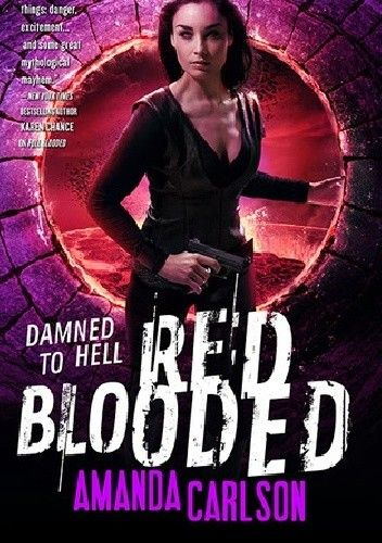 Okładka książki Red Blooded Amanda Carlson