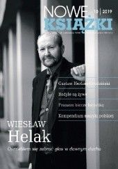 Okładka książki Nowe Książki nr 10 / 2019 Jan Gondowicz,Adam Poprawa,Redakcja miesięcznika Nowe Książki,Wiesław Helak,Maria Sokołowska
