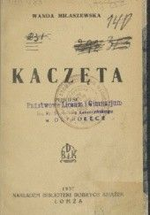 Okładka książki Kaczęta Wanda Miłaszewska