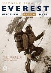 Okładka książki Każdemu jego Everest Mirosław Falco-Dąsal