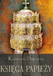Okładka książki Księga papieży Kazimierz Dopierała