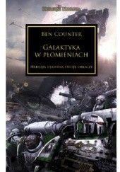 Okładka książki Galaktyka w płomieniach Ben Counter
