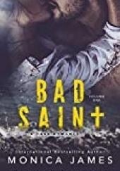 Okładka książki Bad Saint Monica James