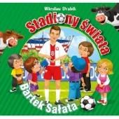 Okładka książki Stadiony świata Bartek Sałata Wiesław Drabik