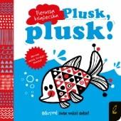 Okładka książki Plusk, plusk! Pierwsza książeczka