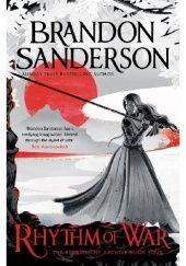 Okładka książki Rhythm of War Brandon Sanderson