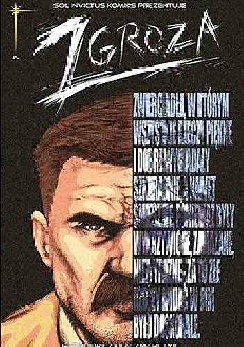 Okładka książki Zgroza- 4- Gniew Grzegorz Kaczmarczyk,Kuba Ryszkiewicz