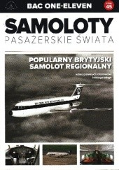 Okładka książki BAC One - Eleven - Popularny Brytyjski samolot regionalny Paweł Bondaryk,Michał Petrykowski