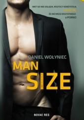 Okładka książki Man size Daniel Wołyniec
