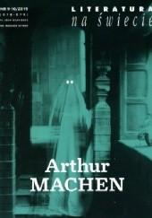 Okładka książki Literatura na Świecie nr 9-10/2019 [578-579] Arthur Machen,Redakcja pisma Literatura na Świecie