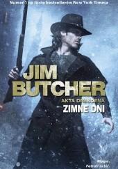 Okładka książki Zimne dni Jim Butcher