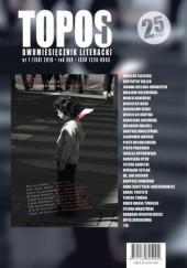 Okładka książki Topos nr 1 (158) 2018 Bogusław Kierc,Wacław Holewiński,Wojciech Kass,Wojciech Kudyba,Karol Toeplitz,Jan Sochoń,i inni,Piotr Prachnio