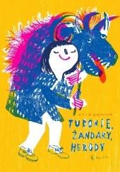 Okładka książki Turonie, żandary, herody. Wiejska maskarada Anna Kaźmierak