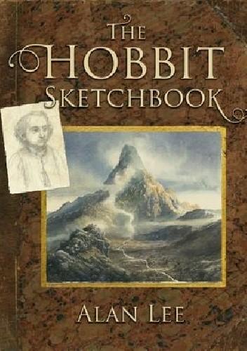 Okładka książki The Hobbit Sketchbook Alan Lee