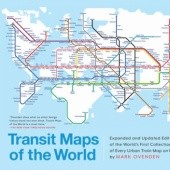 Okładka książki Transit Maps of the World Mark Ovenden