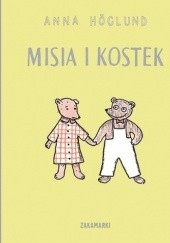 Okładka książki Misia i Kostek Anna Höglund