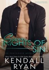 Okładka książki Seven Nights of Sin Kendall Ryan
