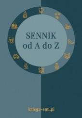 Okładka książki Sennik od A do Z Anna Grzelak