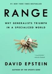 Okładka książki Range: Why Generalists Triumph in a Specialized World
