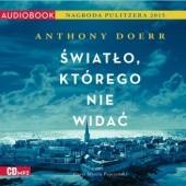 Okładka książki Światło, którego nie widać Anthony Doerr