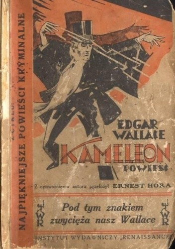 Okładka książki Kameleon Edgar Wallace