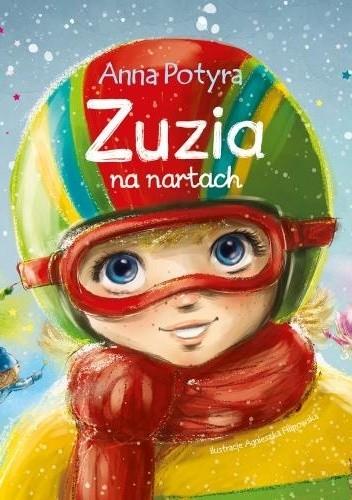 Okładka książki Zuzia na nartach Anna Potyra