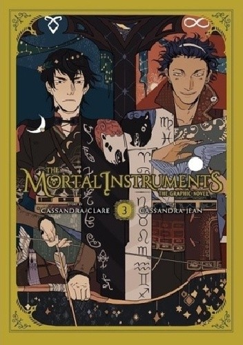 Okładka książki The Mortal Instruments: The Graphic Novel vol. 3 Cassandra Clare,Cassandra Jean