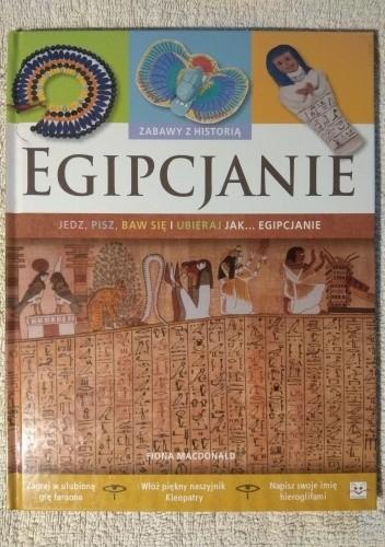 Okładka książki Egipcjanie Fiona MacDonald